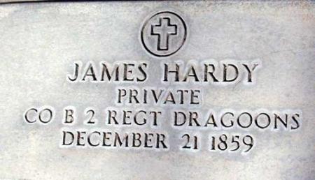 HARDY (SERV), JAMES - Utah County, Utah | JAMES HARDY (SERV) - Utah Gravestone Photos
