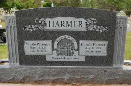 HARMER, HAROLD - Utah County, Utah | HAROLD HARMER - Utah Gravestone Photos