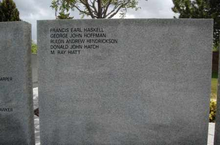 HATCH (SERV), DONALD JOHN - Utah County, Utah | DONALD JOHN HATCH (SERV) - Utah Gravestone Photos
