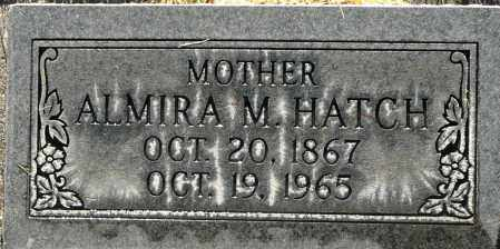 HATCH, ALMIRA M. - Utah County, Utah | ALMIRA M. HATCH - Utah Gravestone Photos