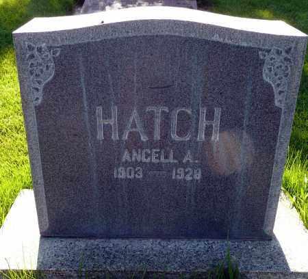 HATCH, ANGELL A. - Utah County, Utah | ANGELL A. HATCH - Utah Gravestone Photos