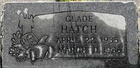 HATCH, GLADE - Utah County, Utah | GLADE HATCH - Utah Gravestone Photos