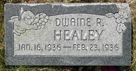 HEALEY, DWAINE R. - Utah County, Utah   DWAINE R. HEALEY - Utah Gravestone Photos