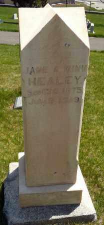 HEALEY, JANE AMELIA - Utah County, Utah | JANE AMELIA HEALEY - Utah Gravestone Photos