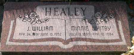 HEALEY, J. WILLIAM - Utah County, Utah | J. WILLIAM HEALEY - Utah Gravestone Photos