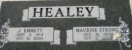 HEALEY, J. EMMETT - Utah County, Utah | J. EMMETT HEALEY - Utah Gravestone Photos