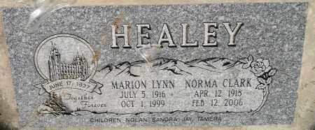 HEALEY, MARION LYNN - Utah County, Utah   MARION LYNN HEALEY - Utah Gravestone Photos