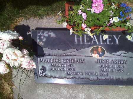 HEALEY, MAURICE - Utah County, Utah   MAURICE HEALEY - Utah Gravestone Photos