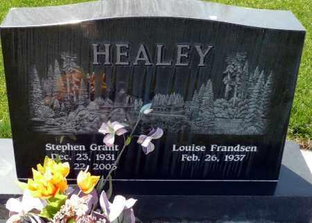 HEALEY, LOUISE - Utah County, Utah | LOUISE HEALEY - Utah Gravestone Photos