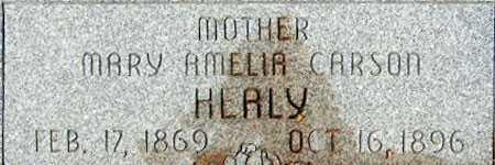 CARSON HEALY, MARY AMELIA - Utah County, Utah | MARY AMELIA CARSON HEALY - Utah Gravestone Photos