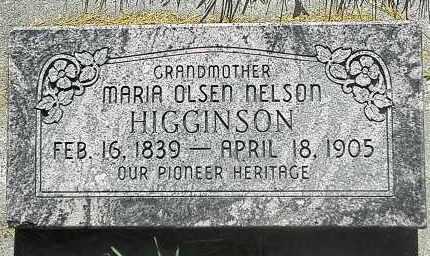 NELSON, MARIA - Utah County, Utah   MARIA NELSON - Utah Gravestone Photos