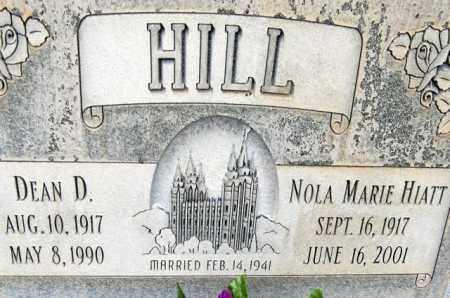 HIATT HILL, NOLA MARIE - Utah County, Utah | NOLA MARIE HIATT HILL - Utah Gravestone Photos