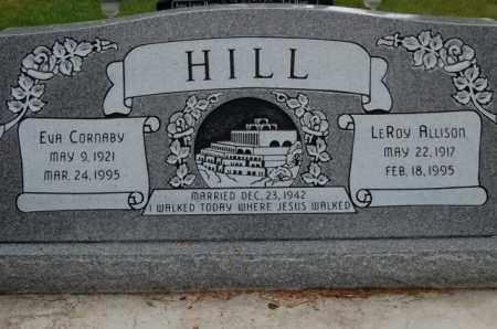HILL, LEROY ALLISON - Utah County, Utah | LEROY ALLISON HILL - Utah Gravestone Photos