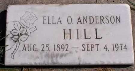 HILL, ELLA - Utah County, Utah | ELLA HILL - Utah Gravestone Photos