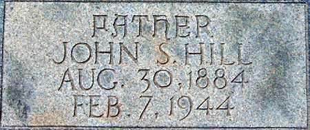 HILL, JOHN SHELTON - Utah County, Utah | JOHN SHELTON HILL - Utah Gravestone Photos