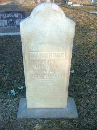 HONE, MARY - Utah County, Utah | MARY HONE - Utah Gravestone Photos