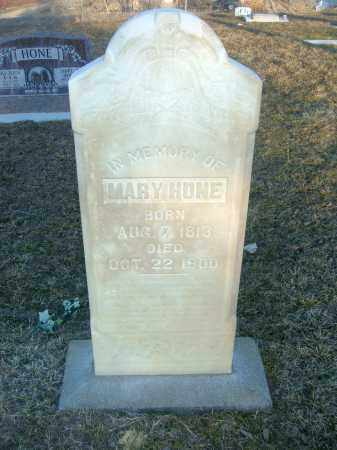 BOSS HONE, MARY - Utah County, Utah | MARY BOSS HONE - Utah Gravestone Photos