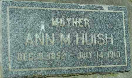 HUISH, ANN M. - Utah County, Utah | ANN M. HUISH - Utah Gravestone Photos