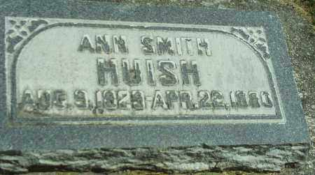 SMITH HUISH, ANN - Utah County, Utah | ANN SMITH HUISH - Utah Gravestone Photos