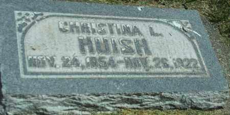 HUISH, CHRISTINA L. - Utah County, Utah | CHRISTINA L. HUISH - Utah Gravestone Photos