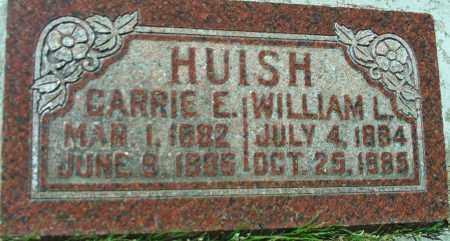 HUISH, CARRIE E. - Utah County, Utah | CARRIE E. HUISH - Utah Gravestone Photos