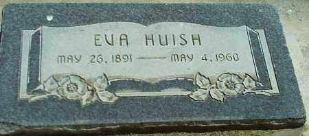 HUISH, EVA - Utah County, Utah | EVA HUISH - Utah Gravestone Photos