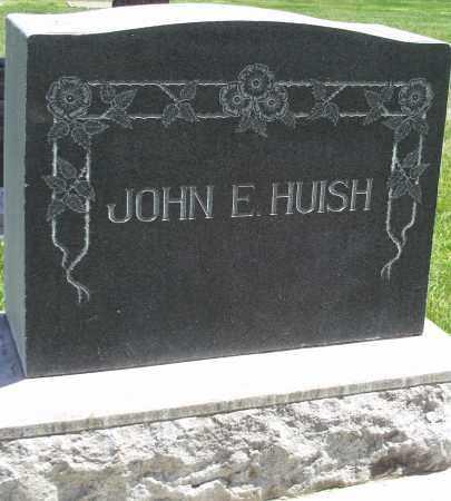 HUISH, JOHN E. - Utah County, Utah | JOHN E. HUISH - Utah Gravestone Photos