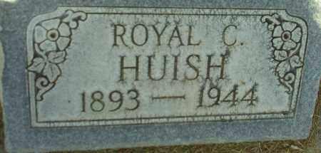 HUISH, ROYAL C. - Utah County, Utah   ROYAL C. HUISH - Utah Gravestone Photos