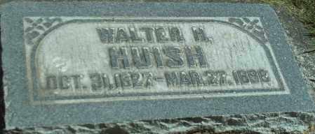 HUISH, WALTER H. - Utah County, Utah | WALTER H. HUISH - Utah Gravestone Photos