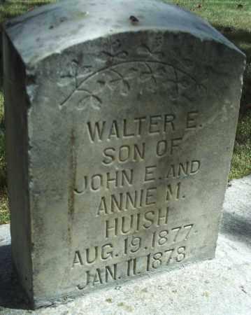 HUISH, WALTER E. - Utah County, Utah   WALTER E. HUISH - Utah Gravestone Photos