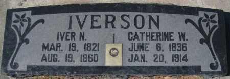 IVERSON, IVER N - Utah County, Utah | IVER N IVERSON - Utah Gravestone Photos