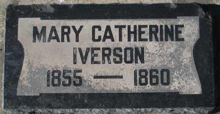 IVERSON, MARY CATHERINE - Utah County, Utah | MARY CATHERINE IVERSON - Utah Gravestone Photos