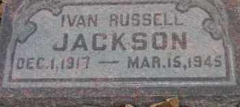 JACKSON, IVAN RUSSELL - Utah County, Utah | IVAN RUSSELL JACKSON - Utah Gravestone Photos