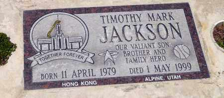 JACKSON, TIMOTHY MARK - Utah County, Utah   TIMOTHY MARK JACKSON - Utah Gravestone Photos