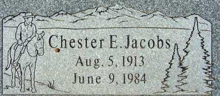 JACOBS, CHESTER EARL - Utah County, Utah | CHESTER EARL JACOBS - Utah Gravestone Photos