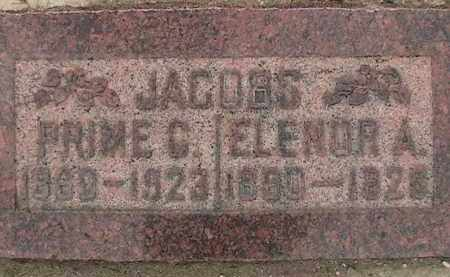 ASHTON JACOBS, ELENOR LAWRENCE - Utah County, Utah | ELENOR LAWRENCE ASHTON JACOBS - Utah Gravestone Photos