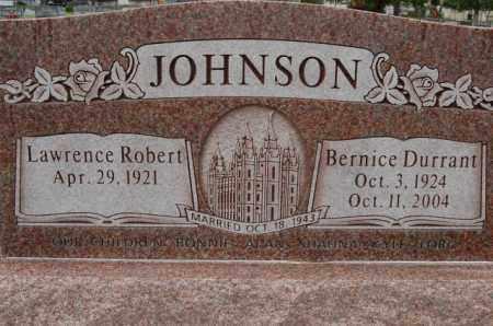 DURRANT JOHNSON, BERNICE - Utah County, Utah | BERNICE DURRANT JOHNSON - Utah Gravestone Photos