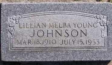 YOUNG, LILLIAN MELBA - Utah County, Utah | LILLIAN MELBA YOUNG - Utah Gravestone Photos
