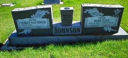 TAYLOR JOHNSON, SHIRLEY RAE - Utah County, Utah | SHIRLEY RAE TAYLOR JOHNSON - Utah Gravestone Photos