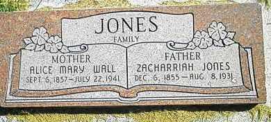 JONES, ZACHARRIAH - Utah County, Utah | ZACHARRIAH JONES - Utah Gravestone Photos