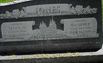 JONES, WILLIAM HEBER - Utah County, Utah | WILLIAM HEBER JONES - Utah Gravestone Photos