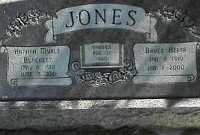 JONES, BRYCE HEBER - Utah County, Utah | BRYCE HEBER JONES - Utah Gravestone Photos