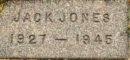 JONES, JACK - Utah County, Utah | JACK JONES - Utah Gravestone Photos