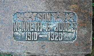 JONES, KENNETH ZACHARIAH - Utah County, Utah | KENNETH ZACHARIAH JONES - Utah Gravestone Photos