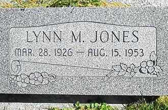 JONES, LYNN MITCHELL - Utah County, Utah | LYNN MITCHELL JONES - Utah Gravestone Photos