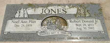 JONES, ROBERT DONALD JR. - Utah County, Utah | ROBERT DONALD JR. JONES - Utah Gravestone Photos