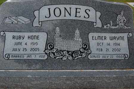 HONE JONES, RUBY ALENE - Utah County, Utah | RUBY ALENE HONE JONES - Utah Gravestone Photos