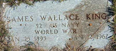 KING (WWI), JAMES WALLACE - Utah County, Utah   JAMES WALLACE KING (WWI) - Utah Gravestone Photos