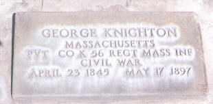 KNIGHTON (CW), GEORGE - Utah County, Utah | GEORGE KNIGHTON (CW) - Utah Gravestone Photos