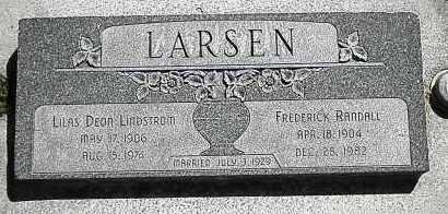 LARSEN, LILAS DEON - Utah County, Utah | LILAS DEON LARSEN - Utah Gravestone Photos
